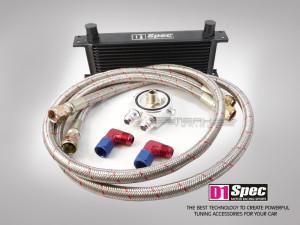 Ölkühler Set 19 Reihen schwarz ohne Thermostat