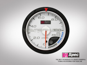 Öldruck Distinct Serie White Dial 60mm D1 Spec