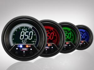 Abgastemperatur Anzeige EVO Premium Serie 60mm