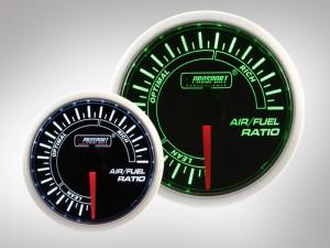 Benzin-Luft-Gemisch Anzeige BF Performance Serie Grün/ Weiss 52mm