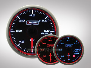 Benzindruck WRC HALO Premium Serie 52mm