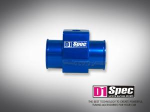 28mm Adapter für Wassertemperatur blau