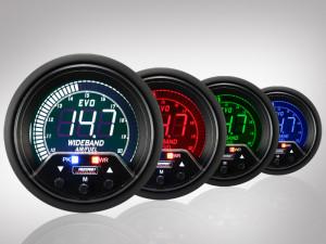 Breitband Lambda Anzeige EVO Premium Serie 60mm