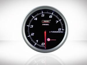 Drehzahlmesser Diesel Racing Serie 80mm