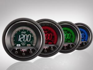 Abgastemperatur Anzeige EVO Premium Serie 52mm