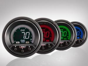 Benzindruck Anzeige EVO Premium Serie 52mm