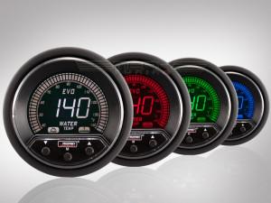 Wassertemperatur Anzeige EVO Premium Serie 52mm