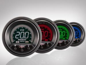 Breitband Lambda Anzeige EVO Premium Serie 52mm