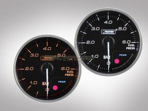 Benzindruck Anzeige Supreme Premium Serie 52mm