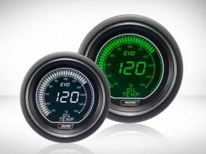 Öltemperatur Grün/ Weiss EVO Series 52mm