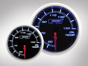 Öltemperatur Anzeige BF Performance Serie Blau/ Weiss 52mm