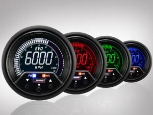 Drehzahlmesser EVO Premium Serie 60mm