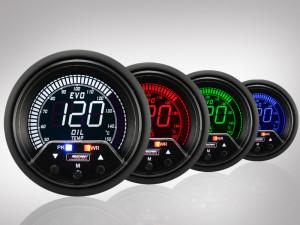 Öltemperatur Anzeige EVO Premium Serie 60mm