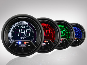 Voltmeter EVO Premium Serie 60mm