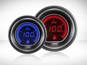 Tankanzeige Rot/ Blau EVO Series 52mm