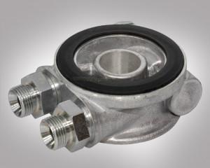 Ölkühler Adapter mit 90°C Thermostat M20 Gewinde