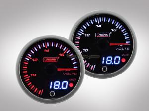 Voltmeter JDM Premium Serie 60mm