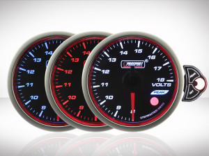 Voltmeter TRC HALO Premium Serie 52mm