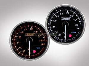 Voltmeter Anzeige Supreme Premium Serie 52mm