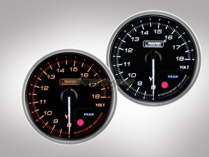 Voltmeter Anzeige Supreme Premium Serie 60mm