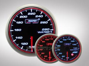 Wassertemperatur WRC HALO Premium Serie 52mm