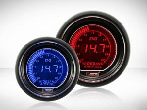 Breitbandanzeige Rot/ Blau EVO Serie 52mm