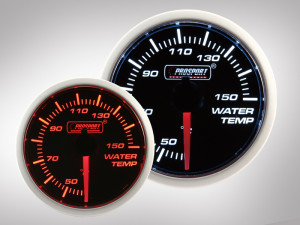 Wassertemperatur BF Performance Serie Orange/ Weiss 52mm
