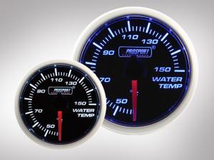 Wassertemperatur Anzeige BF Performance Serie Blau/ Weiss 52mm