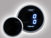 Temperatur Anzeige Dual Serie 52mm