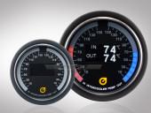 Ladeluftkühler Temperaturanzeige VLS-OLED Serie 52mm