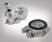 Ölkühler Adapter mit Thermsotat