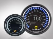 Wassertemperaturanzeige VLS-OLED Serie 52mm